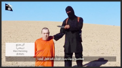 Isis with prisoner